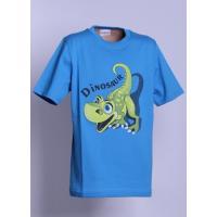 Tričko DINOSAUR , Barva - Modrá , Velikost - 110