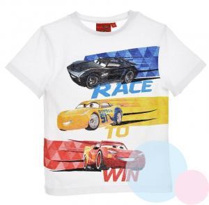 Tričko Disney Cars , Velikost - 98 , Barva - Biela