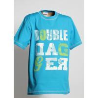 Tričko DOUBLE , Velikost - 134 , Barva - Tyrkysová