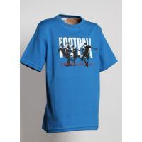 Tričko FOOTBALL , Velikost - 122 , Barva - Modrá