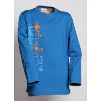 Tričko FUTBAL , Velikost - 158 , Barva - Modrá