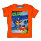 Tričko Holiday , Velikost - 74 , Barva - Oranžová