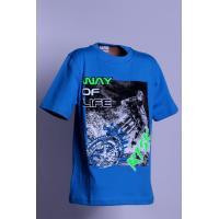 Tričko Life , Barva - Modrá , Velikost - 146
