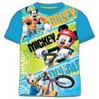 Tričko Mickey Mouse , Barva - Modrá , Velikost - 104