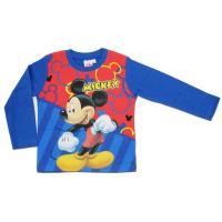 Tričko Mickey Mouse , Velikost - 122 , Barva - Světlo modrá