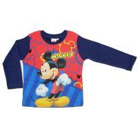 Tričko Mickey Mouse , Velikost - 128 , Barva - Tmavo modrá