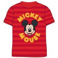 Tričko Mickey Mouse , Velikost - 110 , Barva - Červená