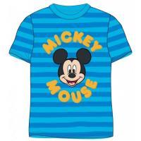 Tričko Mickey Mouse , Velikost - 122 , Barva - Modrá