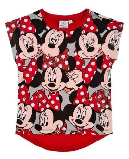 a8ec47925 detské tričko minnie , Barva - Červená, Sun City | Nákupy Deťom SK