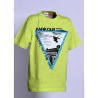 Tričko PARKOUR jumping , Velikost - 122 , Barva - Zelená