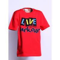 Tričko PARKOUR live style , Velikost - 170 , Barva - Červená