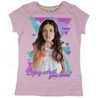 Tričko Soy Luna , Velikost - 122 , Barva - Ružová