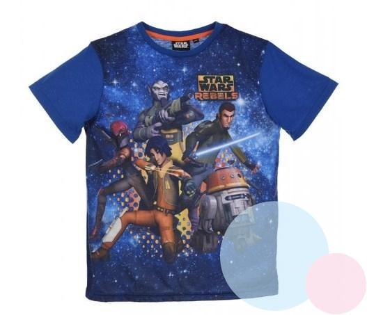 0d1e31ee8 detské tričko hviezdne vojny , Barva - Modrá , Velikost - 104 ...