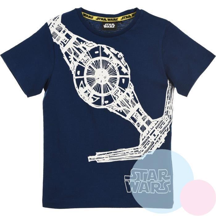 3b4b01b02 dětské triko star wars , Barva - Tmavo modrá , Velikost - 104 ...