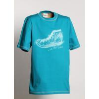 Tričko TENISKA , Velikost - 128 , Barva - Tyrkysová