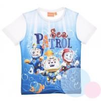 Tričko Paw Patrol , Barva - Bielo-modrá , Velikost - 116