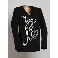 Tričko YES , Velikost - 152 , Barva - Čierna