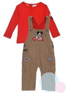 Tričko a nohavice Mickey , Velikost - 68 , Barva - Červená