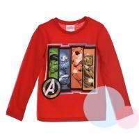Tričko Avengers , Velikost - 128 , Barva - Červená