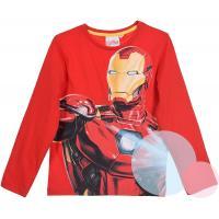 TRIKO AVENGERS Iron-man , Velikost - 116 , Barva - Červená