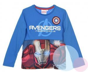 Tričko Avengers , Barva - Modrá