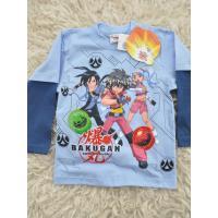 Tričko Bakugan s dlhým rukávom , Barva - Světlo modrá , Velikost - 104