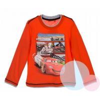 Triko Cars , Barva - Oranžová , Velikost - 128