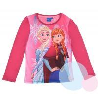 Triko Frozen , Velikost - 104 , Barva - Malinová