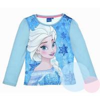 Tričko Frozen Elsa , Barva - Modrá , Velikost - 104
