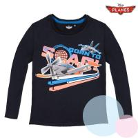 tričko Lietadlá , Velikost - 128 , Barva - Tmavo modrá
