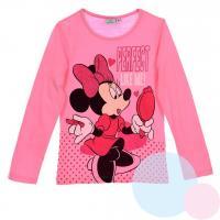 Triko Minnie Mouse , Barva - Ružová , Velikost - 128