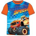 Triko Monster Truck Plamínek , Barva - Oranžová , Velikost - 98