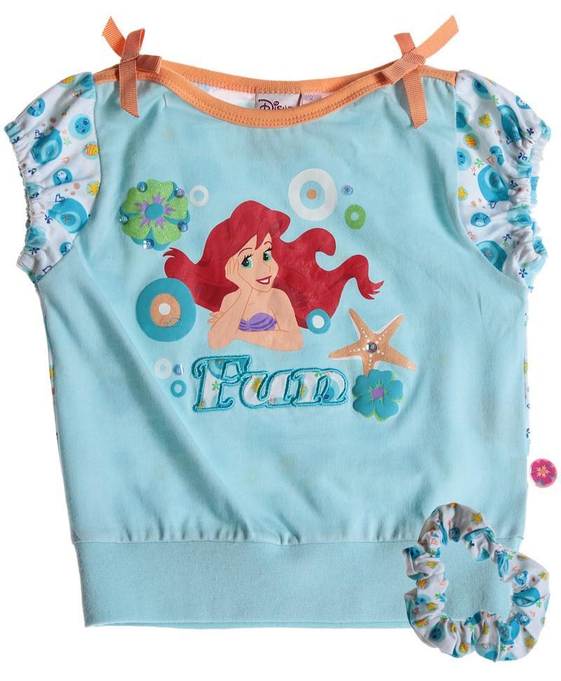 72e7e959d181 detské triko princezna Ariel