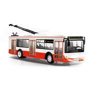 Trolejbus, ktorý hlási zastávky česky, 28 cm , Barva - Barevná