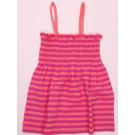 Tunika dievčenská , Barva - Ružová s prúžkom , Velikost - 86/92