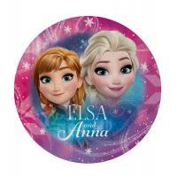 Tvarovaná osuška Ľadové Kráľovstvo Anna a Elsa , Barva - Tmavo ružová