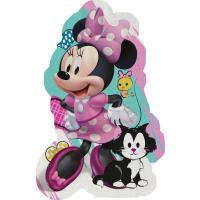 Tvarovaná Micro osuška Minnie hearts , Barva - Ružová , Rozměr textilu - 80x120