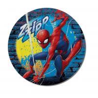 Tvarovaná Micro osuška Spiderman , Barva - Modrá