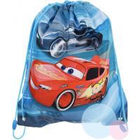 Pytlík na tělocvik CARS , Barva - Modrá