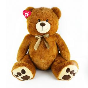 Velký plyšový medvěd Mates 100 cm , Barva - Hnedá
