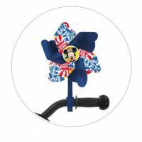 Veterník na detský bicykel Mickey Mouse , Barva - Modrá