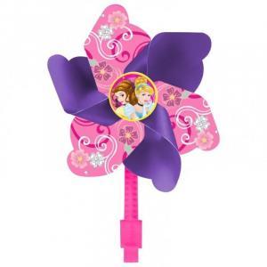 Větrník na dětské kolo Princezny , Barva - Růžovo-fialová