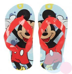 ŽABKY MICKEY Mouse , Barva - Modro-červená , Velikost boty - 24