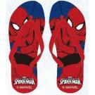 ŽABKY SPIDERMAN , Velikost boty - 32-33 , Barva - Modro-červená