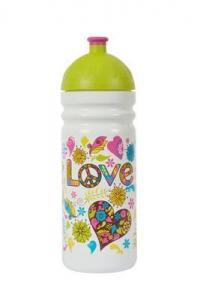 ZDRAVÁ FĽAŠA Hippies , Velikost lahve - 0,7 L , Barva - Bielo-zelená
