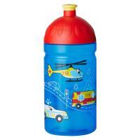 Zdravá fľaša Záchranári , Barva - Modrá , Velikost lahve - 0,5 L