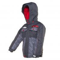 Zimná bunda , Velikost - 98 , Barva - Šedá