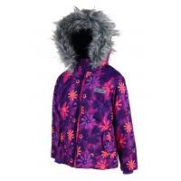 Zimná bunda , Barva - Fialová , Velikost - 122