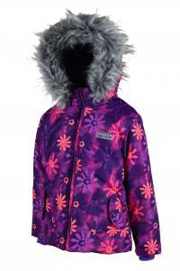 Zimná bunda , Velikost - 122 , Barva - Fialová
