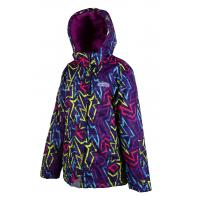 Zimná bunda , Velikost - 98 , Barva - Tmavo fialová